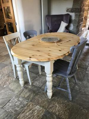 Farm house style table and chairs