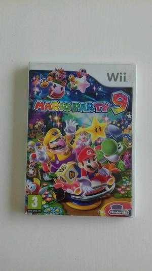 Nintendo wii Mario party 9 game