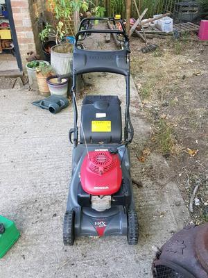 Honda hrx426 self propelled roller mower