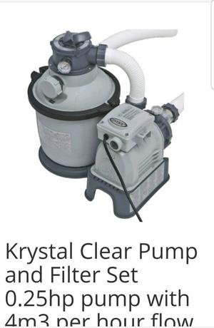 Intex swimming pool pump filter