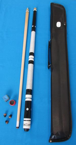 winever Billiard Cue Set incl. Bag, Chalk, Trimmer and