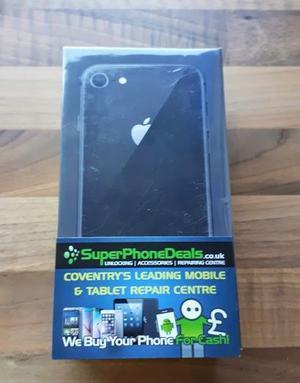APPLE IPHONE 8 64GB BRAND NEW SEALED (BLACK) UNLOCKED WARRANTY