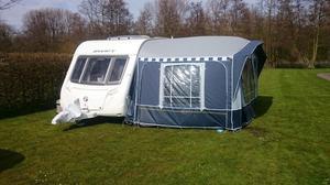 Quest sandringham caravan awning size 14 blue