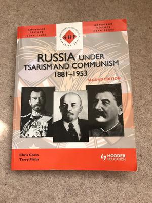 Russia under Tsarism and Communism  A level history textbook