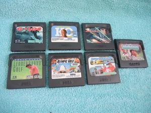 SEGA GAME GEAR GAMES NO LONGER REQUIRED BARGAIN ALL IN GOOD CONDITION