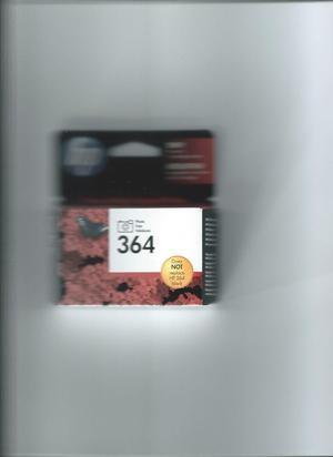 3 X364 BLACK for sale. Bought in error. Catridge is for photosmart C, C, C, D