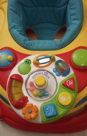 'BABIES R US' BABY WALKER INCL MUSICAL ACTIVITY TRAY + LIGHT