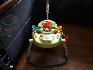 Folding Fisher price baby jumping seat