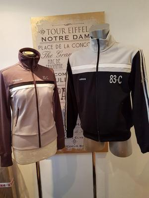 HIS N HERS Adidas 83 C, J Mano rare track tops