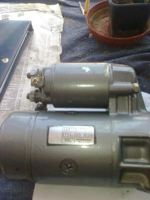 Hitachi starter motorn used but checked out and serviced good condition