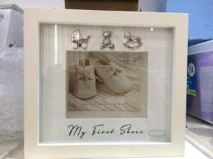My first shoes box frame