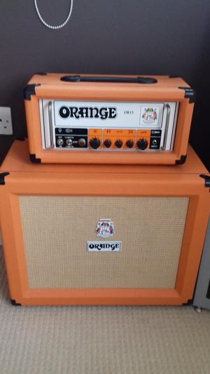 Orange OR 15 and matching 1x12 cab