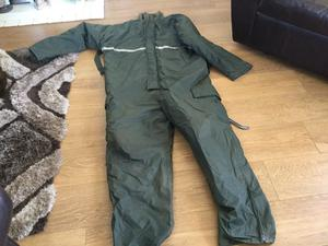Regatta all in one fishing suit in excellent condition