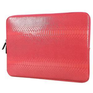 SHENG BEI ER Snake Skin Leather Sleeve Case 15 inch Laptop