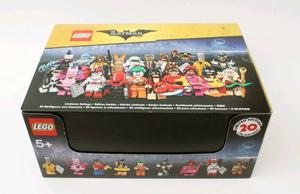 The LEGO Batman Movie - Series 1 Minifigures - Box of 60 - New & Sealed - Retired