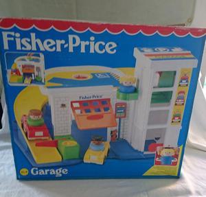 Vintage Fisher Price Garage