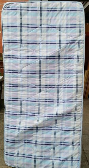 single size mattress, 190cm x 90cm x 15cm thick. In used condition.