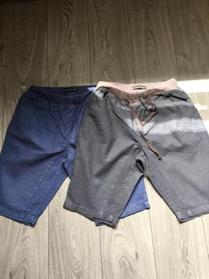 """2 pairs men's/boys shorts 32"""" waist. In great condition"""