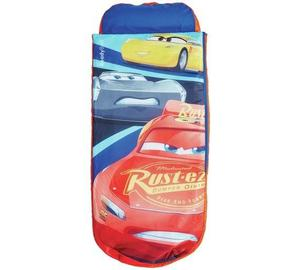 Disney Cars Junior ReadyBed - Kids Air Bed & Sleeping Bag