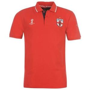 England official Fifa Brazil  World Cup Polo Shirt Red XL Brand New