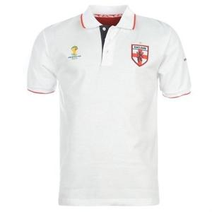 England official Fifa Brazil  World Cup Polo Shirt White XXL Brand New