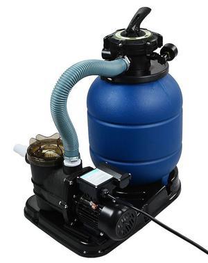 """GPH 13"""" Sand Filter w/ Swimming Pool Pump UL List"""