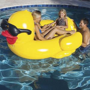 Game Giant Riding Derby Duck Swimming Pool Inflatable Float