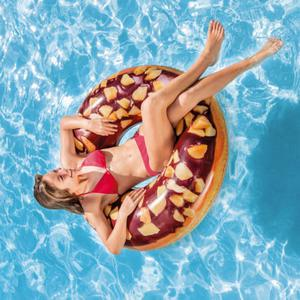 Inflatable Donut Tube Pool Float Lounger Beach Swimming Toy