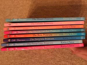 Little Princesses books by Katie Chase