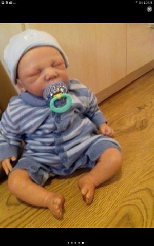 Stunning Noe sculpt reborn baby boy