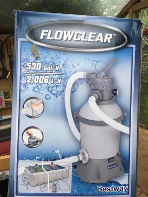 Swimming pool sand filter New