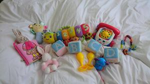 Bag of Baby Toys, Leap Frog, Fisher Price, White Company