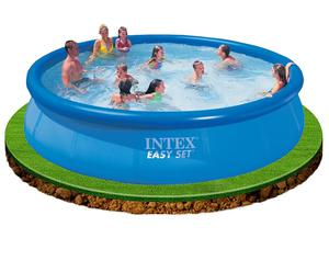 "Intex 15ft x 36"" Easy Set Inflatable Swimming Pool great fun"