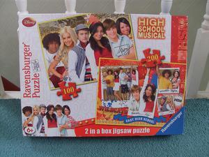 Jigsaw puzzles - High School Musical 2 in 1 Jigsaws