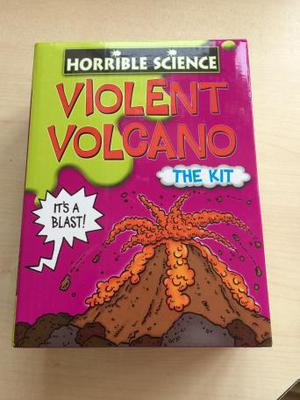 New/ unused 'Horrible Science' Violent Volcano kit