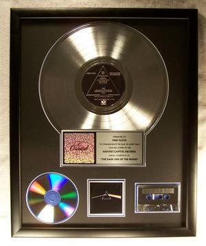 Pink Floyd The Dark Side Of The Moon LP, Cassette, CD