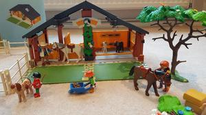 Playmobil horse and pony ranch