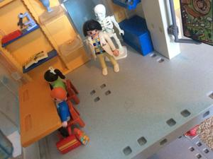 Playmobil school with box