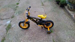 child's cycle ideal for 3 to 4 year old