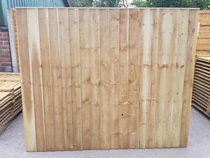 FENCE PANELS SALE!! Pressure Treated Super Heavy Duty Vertical Board Fence Panels From £17 Each!!!!