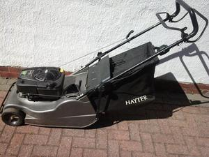 Hayter Harrier 48 Pro. Self Propelled Petrol Lawnmower with rear roller... SERVICED