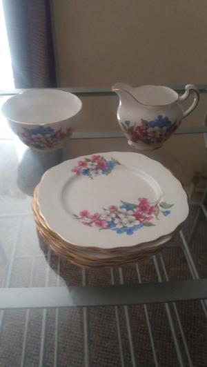 Royal Vale Bone China Tea Set