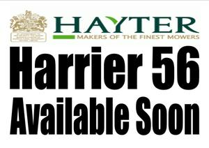 Hayter Harrier 56 Briggs & Stratton Powered Self Drive Rear