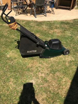 Hayter Harrier Lawn Mower with Roller