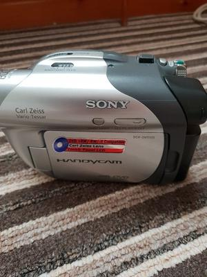 Sony camcorder with bag