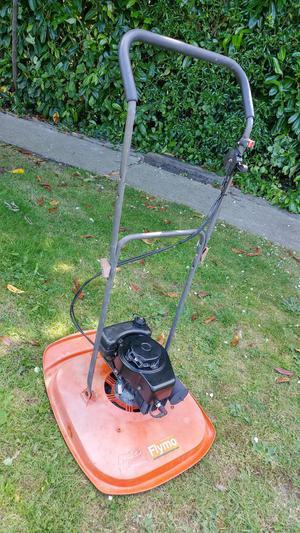 2 stroke petrol Flymo hover mower