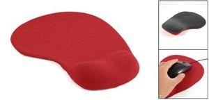 Desktop Silicone Gel Wrist Rest Support Mouse Pad Mat Red