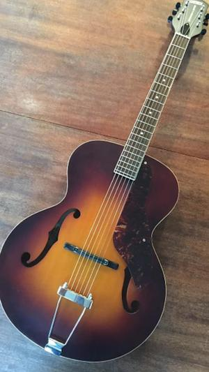 Gretsch archtop acoustic guitar