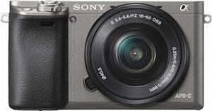 Sony A Gray 24.3-megapixel APS-C CMOS sensor like new!!