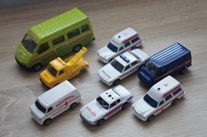 Vintage 80's Corgi toy cars lot